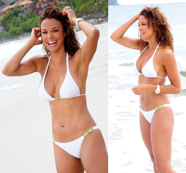 Eva Larue hot bikini pics